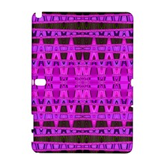 Bright Pink Black Geometric Pattern Samsung Galaxy Note 10 1 (p600) Hardshell Case