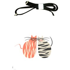 Two Lovely Cats   Shoulder Sling Bags by TastefulDesigns