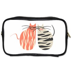 Two Lovely Cats   Toiletries Bags