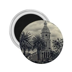 San Luis Church Otavalo Ecuador 2 25  Magnets by dflcprints