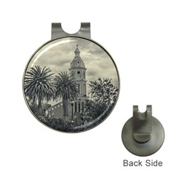 San Luis Church Otavalo Ecuador Hat Clips With Golf Markers by dflcprints