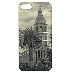 San Luis Church Otavalo Ecuador Apple Iphone 5 Hardshell Case With Stand by dflcprints