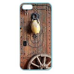 Oriental Wooden Rustic Door  Apple Seamless Iphone 5 Case (color) by TastefulDesigns