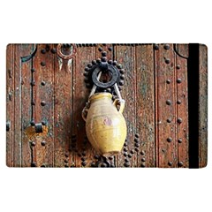Oriental Wooden Rustic Door  Apple Ipad 3/4 Flip Case