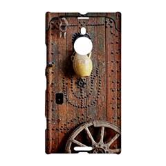 Oriental Wooden Rustic Door  Nokia Lumia 1520