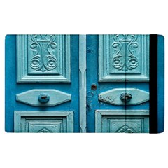 Turquoise Oriental Old Door Apple Ipad 3/4 Flip Case