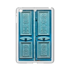 Turquoise Oriental Old Door Ipad Mini 2 Enamel Coated Cases