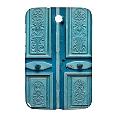 Turquoise Oriental Old Door Samsung Galaxy Note 8 0 N5100 Hardshell Case  by TastefulDesigns