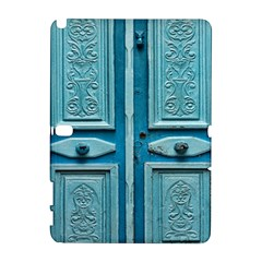 Turquoise Oriental Old Door Samsung Galaxy Note 10 1 (p600) Hardshell Case