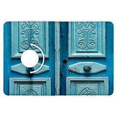 Turquoise Oriental Old Door Kindle Fire Hdx Flip 360 Case