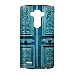 Turquoise Oriental Old Door Lg G4 Hardshell Case by TastefulDesigns