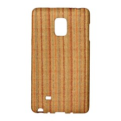 Elegant Striped Linen Texture Galaxy Note Edge
