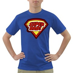 Super Men s T-shirt (Colored) by typewriter