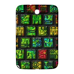 Colorful Buttons               samsung Galaxy Note 8 0 N5100 Hardshell Case by LalyLauraFLM