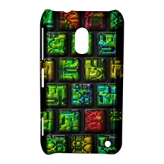 Colorful Buttons               			nokia Lumia 620 Hardshell Case by LalyLauraFLM