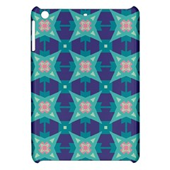 Blue Stars Pattern                  			apple Ipad Mini Hardshell Case by LalyLauraFLM