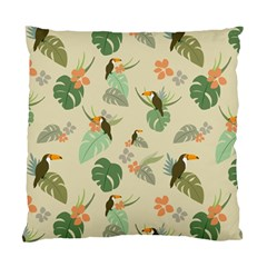 Tropical Garden Pattern Standard Cushion Case (two Sides)