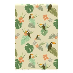 Tropical Garden Pattern Shower Curtain 48  X 72  (small)