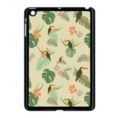 Tropical Garden Pattern Apple Ipad Mini Case (black) by TastefulDesigns