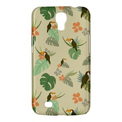 Tropical Garden Pattern Samsung Galaxy Mega 6 3  I9200 Hardshell Case by TastefulDesigns