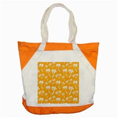 Summer Palm Tree Pattern Accent Tote Bag