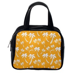 Summer Palm Tree Pattern Classic Handbags (one Side)