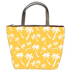 Summer Palm Tree Pattern Bucket Bags