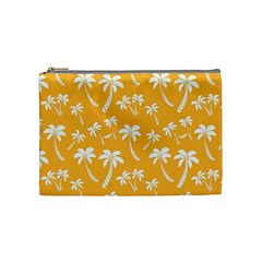 Summer Palm Tree Pattern Cosmetic Bag (medium)
