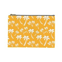 Summer Palm Tree Pattern Cosmetic Bag (large)