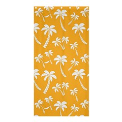 Summer Palm Tree Pattern Shower Curtain 36  X 72  (stall)