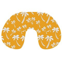 Summer Palm Tree Pattern Travel Neck Pillows