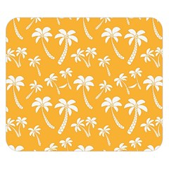 Summer Palm Tree Pattern Double Sided Flano Blanket (small)  by TastefulDesigns