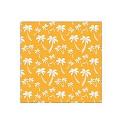 Summer Palm Tree Pattern Satin Bandana Scarf