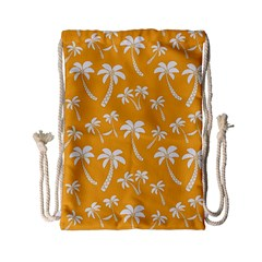 Summer Palm Tree Pattern Drawstring Bag (small)