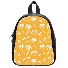 Summer Palm Tree Pattern School Bags (small)