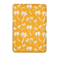 Summer Palm Tree Pattern Samsung Galaxy Tab 2 (10 1 ) P5100 Hardshell Case  by TastefulDesigns