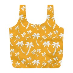Summer Palm Tree Pattern Full Print Recycle Bags (l)