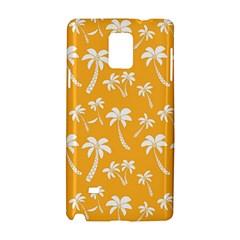 Summer Palm Tree Pattern Samsung Galaxy Note 4 Hardshell Case