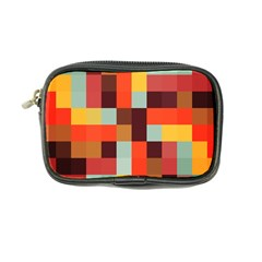 Tiled Colorful Background Coin Purse
