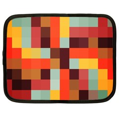 Tiled Colorful Background Netbook Case (xxl)
