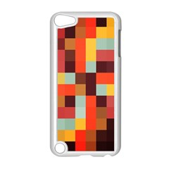 Tiled Colorful Background Apple Ipod Touch 5 Case (white)