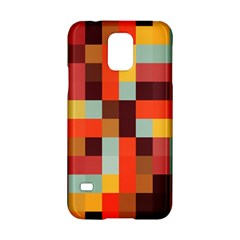 Tiled Colorful Background Samsung Galaxy S5 Hardshell Case
