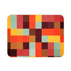 Tiled Colorful Background Double Sided Flano Blanket (mini)