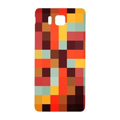 Tiled Colorful Background Samsung Galaxy Alpha Hardshell Back Case
