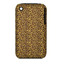 Animal Texture Skin Background Apple Iphone 3g/3gs Hardshell Case (pc+silicone)