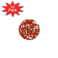 Vivid Floral Collage 1  Mini Buttons (10 pack)  by dflcprints
