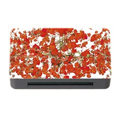 Vivid Floral Collage Memory Card Reader with CF by dflcprints