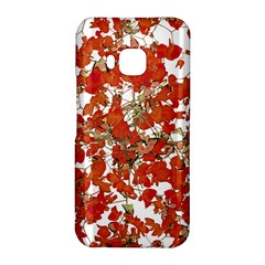 Vivid Floral Collage HTC One M9 Hardshell Case by dflcprints