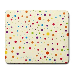 Colorful Dots Pattern Large Mousepads