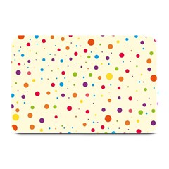 Colorful Dots Pattern Plate Mats